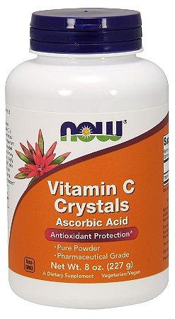 Vitamina C Crystals Powder NOW 227g