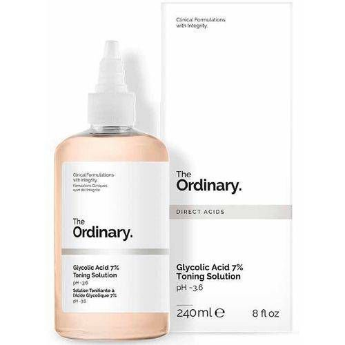 Acido Glicolico The Ordinary  7% Toning Solution  240 ml - FRETE GRÁTIS