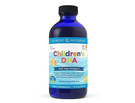 Children's DHA Nordic Naturals 530 mg - 8oz (237 ml )