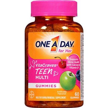 One A Day For Her VitaCraves Teen Multivitamin , 60 gomas