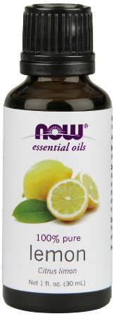 Óleo Essencial NOW Lemon 100% Puro 30 ml