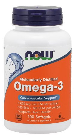 Omega 3 1000 NOW 100 Softgels