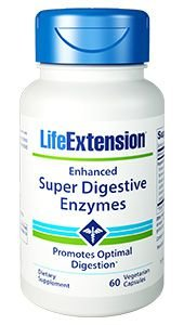 Enhanced Super Digestive Enzymes 60 Veg Capsules - Life Extension