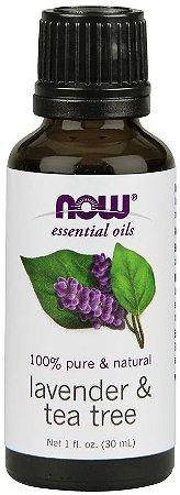 Óleo Essencial Lavender & Tea Tree Now 30 ml