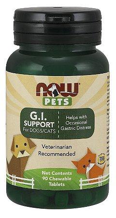 G.I. Support  para cães e gatos NOW PETS 90 Chewables
