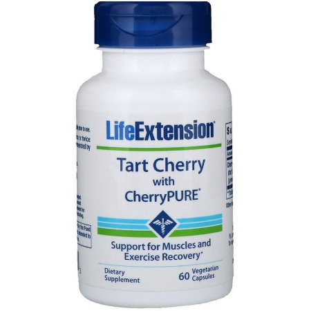 Tart Cherry with CherryPURE 60 capsulas LIFE Extension