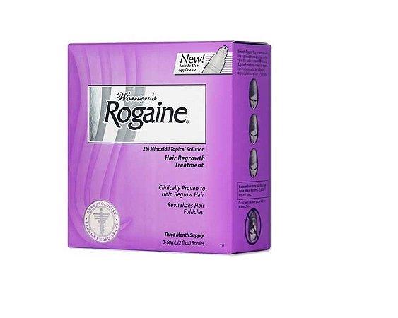 Rogaine - Tratamento Capilar para Mulheres - 2oz