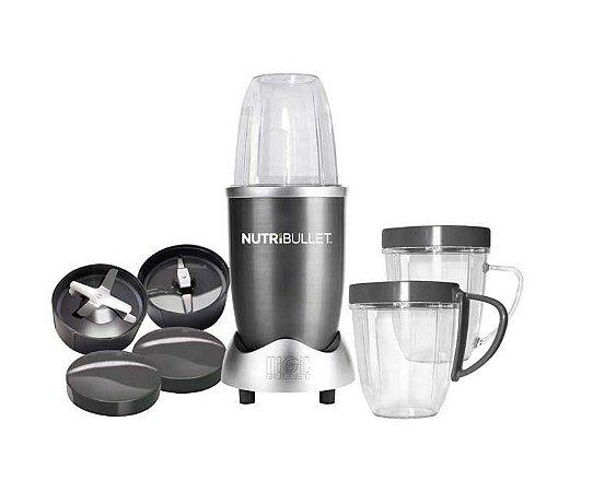 Nutribullet - Triturador de Alimentos - Jogo com 12 peças