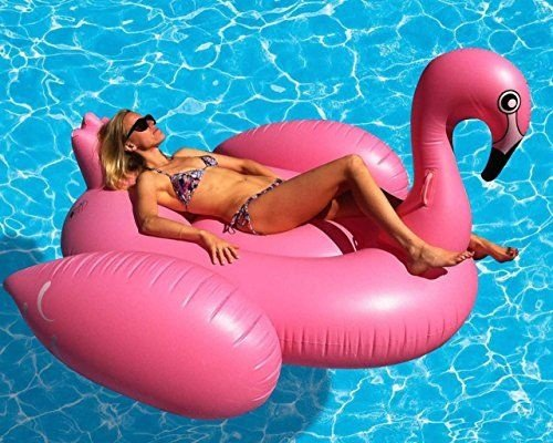 Pool Float - Bóia Gigante - Flamingo Rosa
