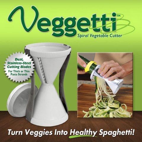 Veggetti - Cortador Espiral de Vegetais - Frete Grátis