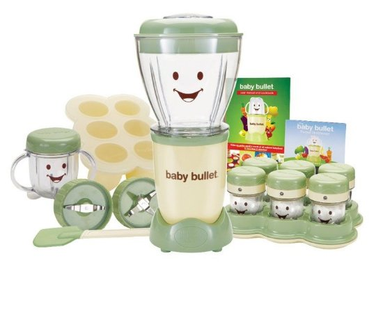 Máquina de Papinha - Baby Bullet Complete Baby Care System
