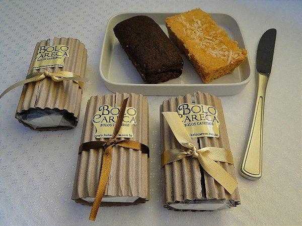 Pacote 100 Mini Bolo Careca (vários sabores) para Eventos