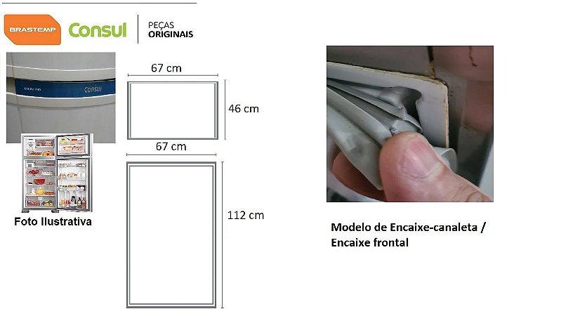 JOGO DE BORRACHAS BRM47 / CRM44