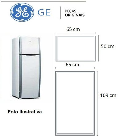 Jogo Borrachas Da Ge410 / Rege410 - Original