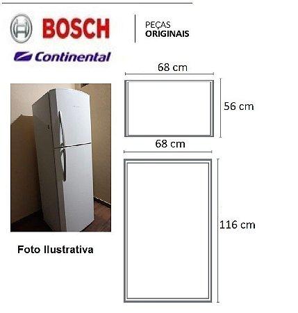 Jogo Borrachas Geladeira Continental Rc46/rc47/rc43/rsu44