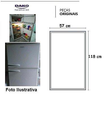 Borracha Dako360 / 380 / REdk38 / REdk40 - (geladeira )