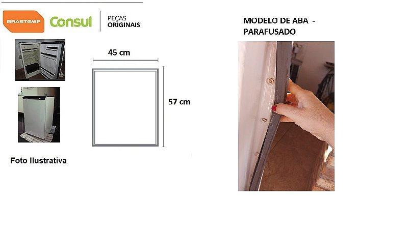 Borracha Frigobar - Consul Top 80 E Outros - Aba-parafusada