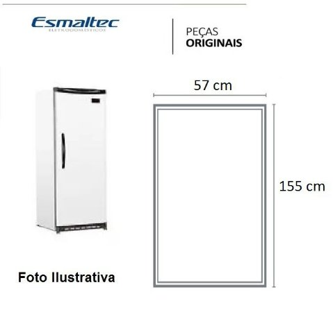 Borracha Para Cervejeira Esmaltec Modelo Cvr300 / Cv300r