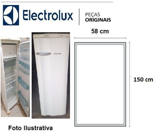 Borracha Para Geladeira Electrolux Re34 / Rde34 / R330 / rde35