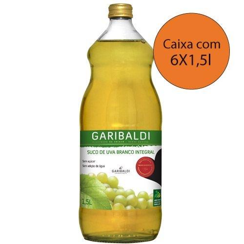 Suco de Uva Branco - 6 garrafas de 1,5L