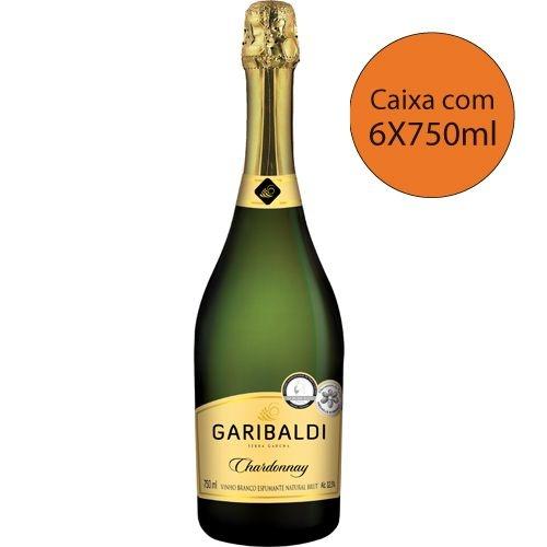 Garibaldi Chardonnay - Caixa com 6X750ml