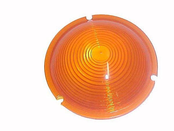 7fbb25ac4e Lente Lanterna Lateral (Aro Preto/Cromado) Amarelo - Caminhão/CARRETAS -  45241