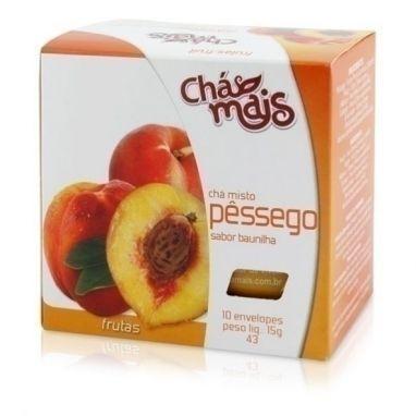 Chá Pessêgo sabor Baunilha - Chá mais