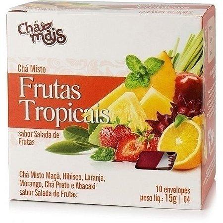 Chá Misto, Frutas Tropicais sabor Salada de Frutas - Chá Mais