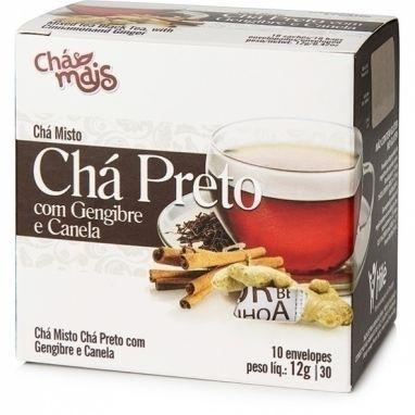 Chá Preto com Gengibre e Canela - Chá Mais