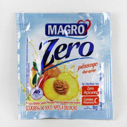Refresco Magro Zero açúcar sabor pêssego