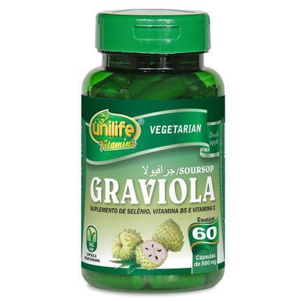 Graviola Unilife 60 cápsulas