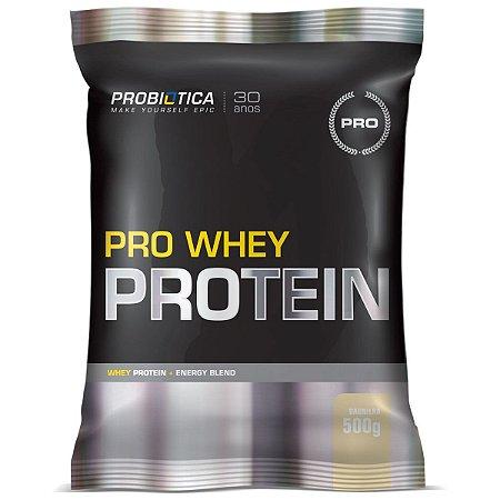Pro Whey Protein 500g - Probiótica Baunilha