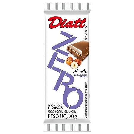 CHOCOLATE ZERO AÇUCAR AVELA 20G