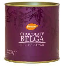 CHOCOLATE BELGA NIBS CACAU 15G