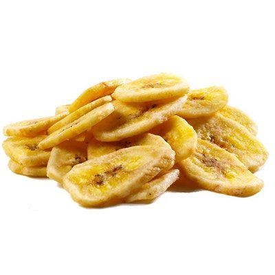 Banana chips desidratada fatiada 100g