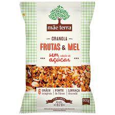 GRANOLA CASEIRA FRUTAS/MEL S/ACUCAR  250G