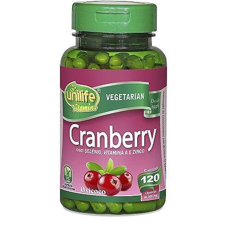 Cranberry 500 mg - 60 cápsulas