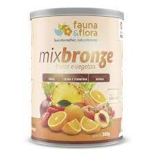 Mixbronze frutas e vegetais 300g - sabor Laranja