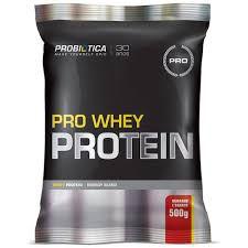 Pro Whey Protein 500g - Probiótica morango