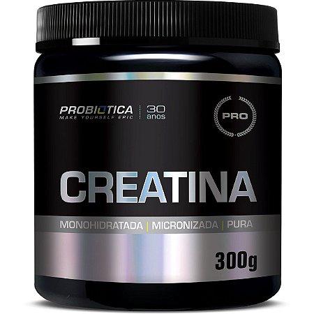 Creatina Pura - Probiótica 300g