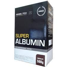 SUPER ALBUMIN - 500 gr Chocolate