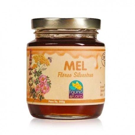 Mel Flores Silvestres 300g - Fauna & Flora