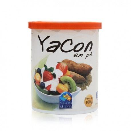 Yacon em pó
