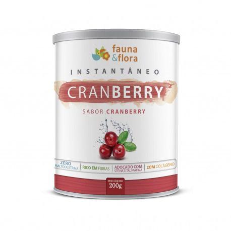 Instantâneo de Cranberry 200g