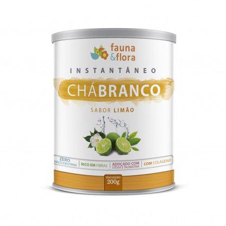 Instantâneo de Chá Branco Sabor Limão