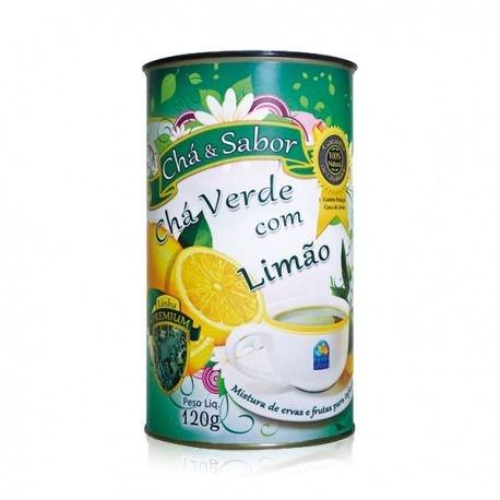 Chá Verde com Limão 120g