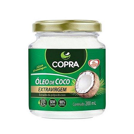 Óleo de coco Copra Extra Virgem (200ml)