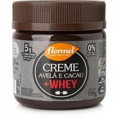 Creme Avelã e Cacau + Whey - Flormel