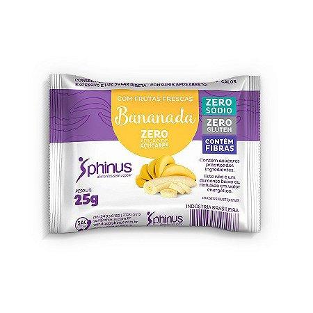 Bananada Zero Açúcar
