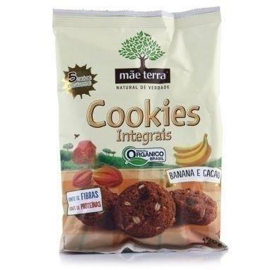 Cookies Organico Banana e Cacau 30g - Mãe Terra